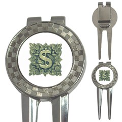 Money Symbol Ornament 3-in-1 Golf Divots