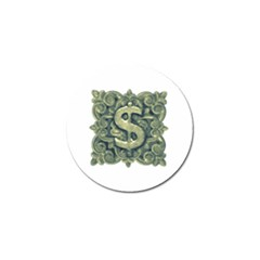 Money Symbol Ornament Golf Ball Marker