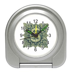 Money Symbol Ornament Travel Alarm Clocks