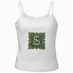 Money Symbol Ornament Ladies Camisoles