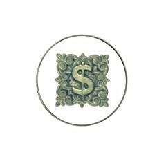 Money Symbol Ornament Hat Clip Ball Marker