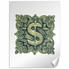 Money Symbol Ornament Canvas 36  x 48