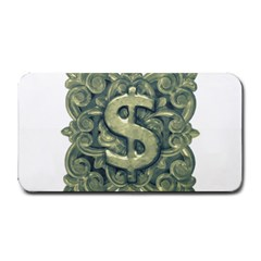 Money Symbol Ornament Medium Bar Mats