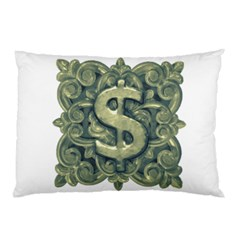 Money Symbol Ornament Pillow Case