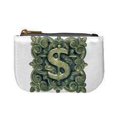 Money Symbol Ornament Mini Coin Purses