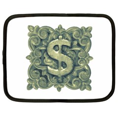 Money Symbol Ornament Netbook Case (XXL)