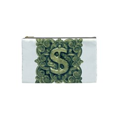 Money Symbol Ornament Cosmetic Bag (Small)