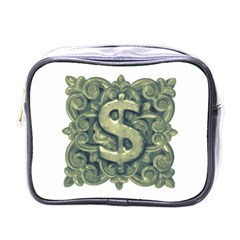 Money Symbol Ornament Mini Toiletries Bags