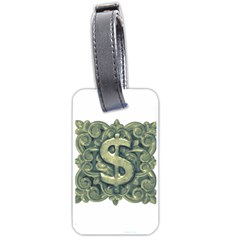 Money Symbol Ornament Luggage Tags (One Side)