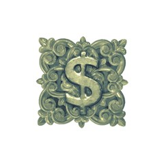 Money Symbol Ornament Shower Curtain 48  x 72  (Small)