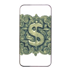 Money Symbol Ornament Apple iPhone 4/4s Seamless Case (Black)