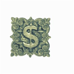 Money Symbol Ornament Small Garden Flag (Two Sides)