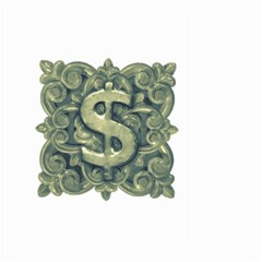 Money Symbol Ornament Large Garden Flag (Two Sides)