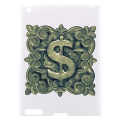 Money Symbol Ornament Apple iPad 3/4 Hardshell Case