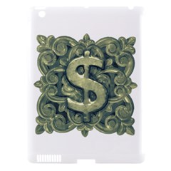 Money Symbol Ornament Apple iPad 3/4 Hardshell Case (Compatible with Smart Cover)