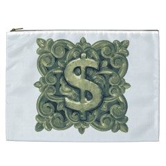 Money Symbol Ornament Cosmetic Bag (XXL)