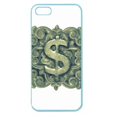 Money Symbol Ornament Apple Seamless iPhone 5 Case (Color)