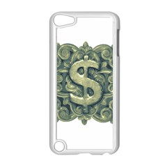 Money Symbol Ornament Apple iPod Touch 5 Case (White)