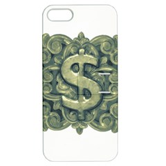 Money Symbol Ornament Apple iPhone 5 Hardshell Case with Stand