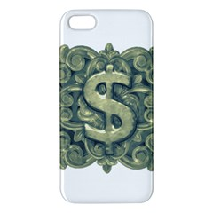 Money Symbol Ornament Apple iPhone 5 Premium Hardshell Case