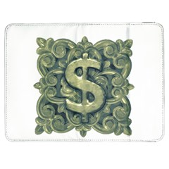 Money Symbol Ornament Samsung Galaxy Tab 7  P1000 Flip Case