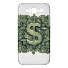 Money Symbol Ornament Samsung Galaxy Mega 5.8 I9152 Hardshell Case