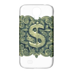 Money Symbol Ornament Samsung Galaxy S4 Classic Hardshell Case (PC+Silicone)