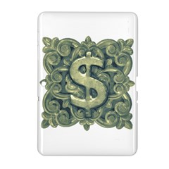 Money Symbol Ornament Samsung Galaxy Tab 2 (10.1 ) P5100 Hardshell Case