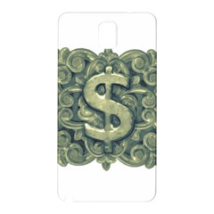 Money Symbol Ornament Samsung Galaxy Note 3 N9005 Hardshell Back Case