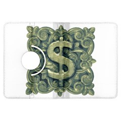 Money Symbol Ornament Kindle Fire HDX Flip 360 Case