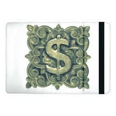 Money Symbol Ornament Samsung Galaxy Tab Pro 10.1  Flip Case