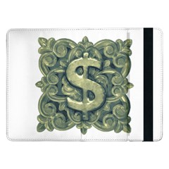 Money Symbol Ornament Samsung Galaxy Tab Pro 12.2  Flip Case