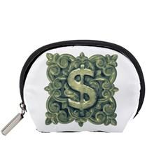 Money Symbol Ornament Accessory Pouches (Small)