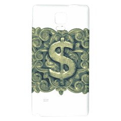 Money Symbol Ornament Galaxy Note 4 Back Case