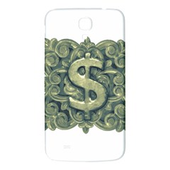 Money Symbol Ornament Samsung Galaxy Mega I9200 Hardshell Back Case