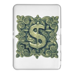 Money Symbol Ornament Samsung Galaxy Tab 4 (10.1 ) Hardshell Case