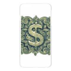 Money Symbol Ornament Apple Seamless iPhone 6 Plus/6S Plus Case (Transparent)