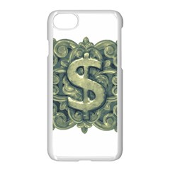 Money Symbol Ornament Apple iPhone 7 Seamless Case (White)