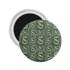 Money Symbol Ornament 2.25  Magnets