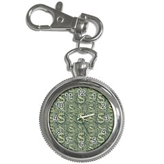 Money Symbol Ornament Key Chain Watches