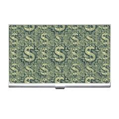 Money Symbol Ornament Business Card Holders