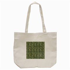 Money Symbol Ornament Tote Bag (cream)