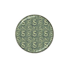 Money Symbol Ornament Hat Clip Ball Marker (4 pack)