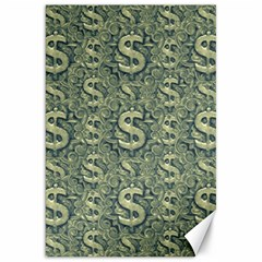 Money Symbol Ornament Canvas 20  x 30