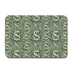 Money Symbol Ornament Plate Mats
