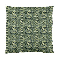 Money Symbol Ornament Standard Cushion Case (two Sides)