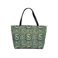 Money Symbol Ornament Shoulder Handbags