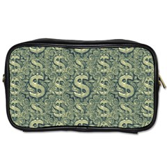 Money Symbol Ornament Toiletries Bags