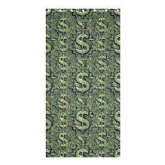 Money Symbol Ornament Shower Curtain 36  x 72  (Stall)