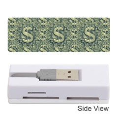Money Symbol Ornament Memory Card Reader (Stick)